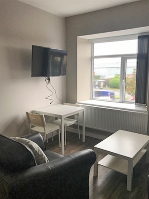 1 bedroom student apartment in Bay Campus, Swansea