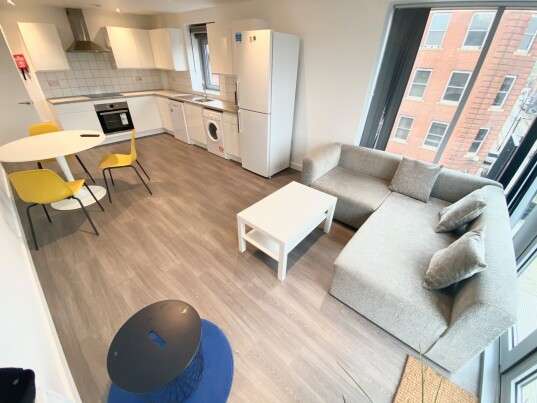 4 bedroom student apartment in City Centre, Sheffield