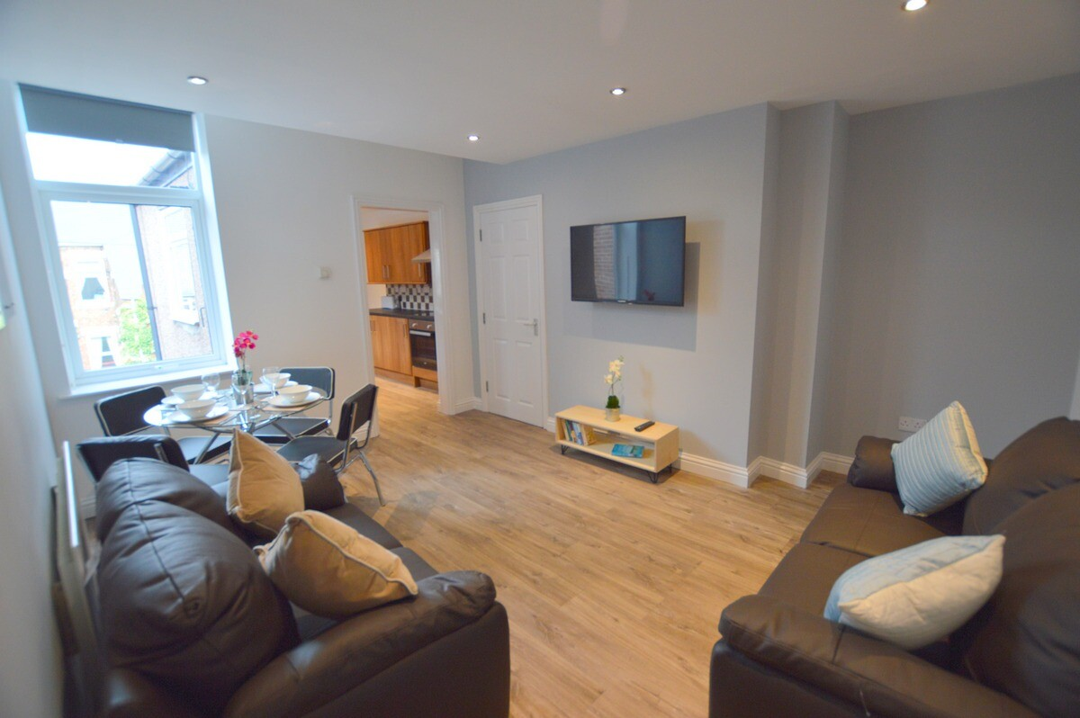 5 bedroom student apartment in Heaton, Newcastle