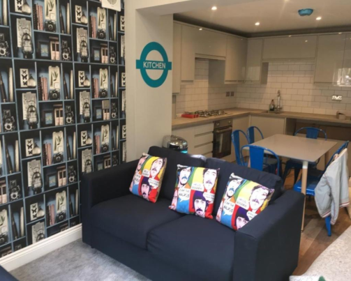 6 bedroom student house in Hove, Brighton